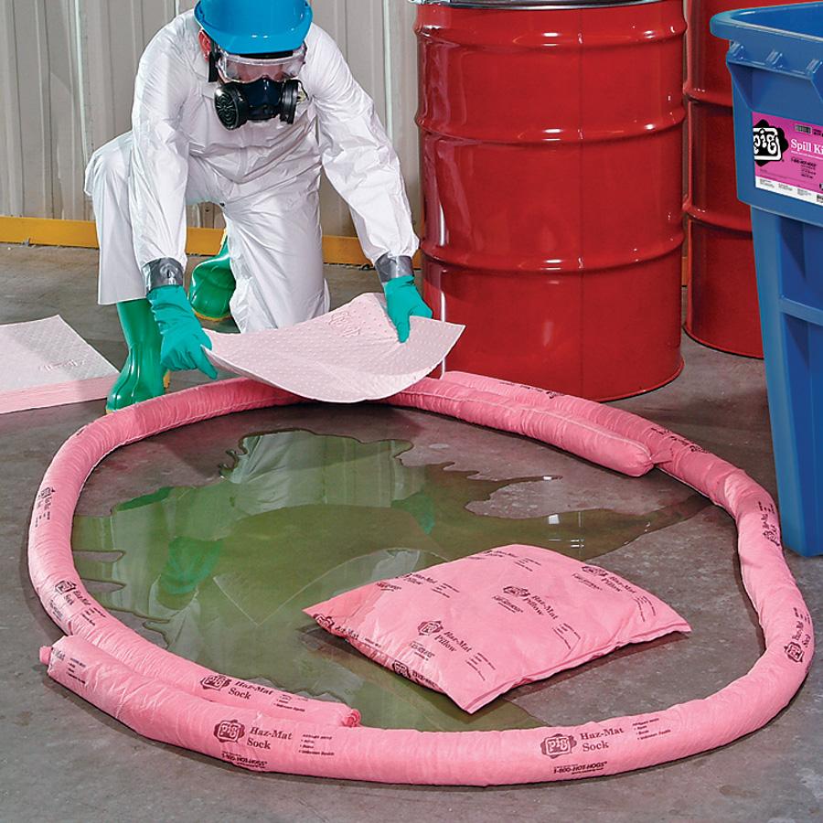 Kit assorbenti per sostanze acide e caustiche prodotti for Vassoi assorbenti